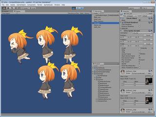 キーフレームアニメーション例