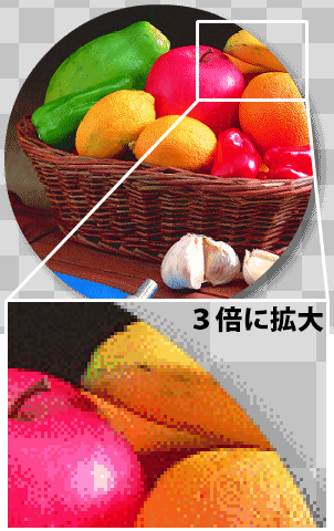 Adobe Flash CS6で出力したPNG8画像