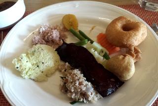ホテルのケララ風朝食