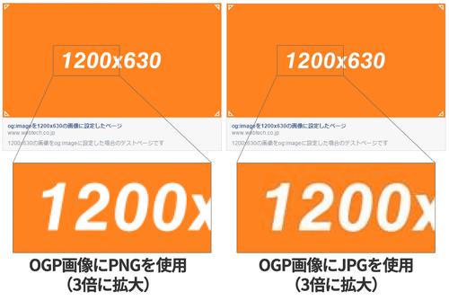 PNGとJPEGの比較