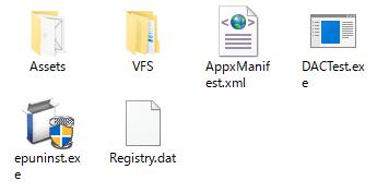 生成・格納されたファイルの一覧