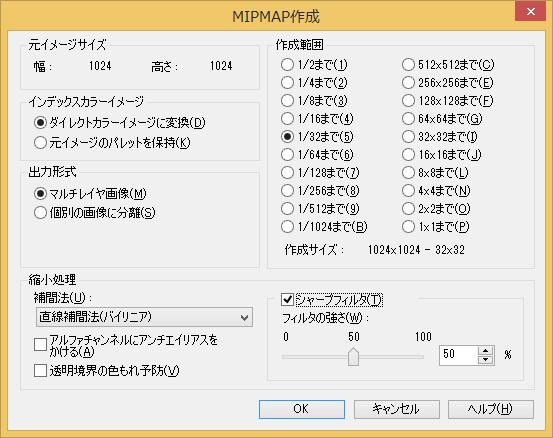 MIPMAP作成